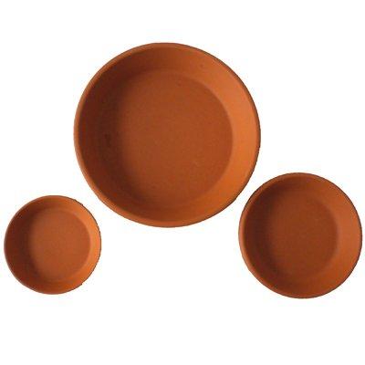 Terrakotta-Untersetzer 10cm Durchmesser Spielzeug