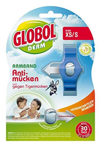 Globol 81855190 Armband Anti-Mücken Kids mehrfarbig