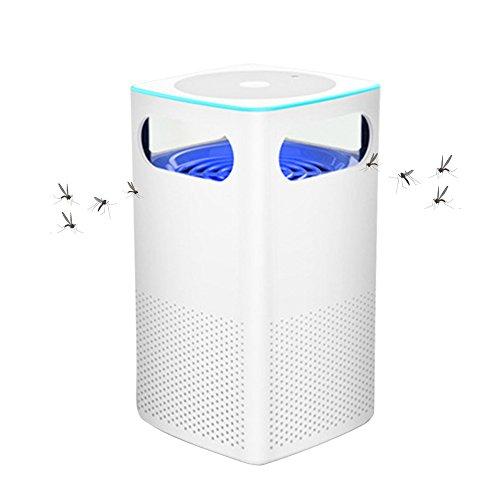 Tomone Intelligente LED Moskito Lampe USB Insektenvernichter Elektrisch LED Insektenlampe Innenmoskito-Falle Keine Strahlung Keine Chemikalien in Sicherheit für Säuglings
