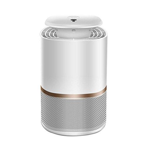WINOMO Insektenvernichter LED Mückenfalle Photokatalysator Indoor Fliegen Killer USB Insektenlampe gegen Moskitos Fliegen weiß