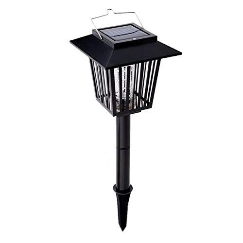 softeen Solarbetriebene LED Moskito Killer Lampe 2 in 1 Garten Lampe Dual-Modi Insekt Killer Licht Moskito Falle Licht Bug Zapper UV-Licht für Camping Lampe Terrasse Rasen Hof