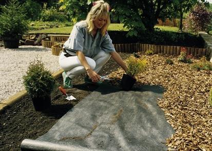 Plantex Premium Unkrautvlies Gartenvlies von DuPont™ 2 Rollen á 10 x 25 m
