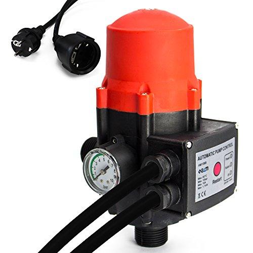 AWM Pumpen Druckschalter automatische Pumpensteuerung verkabelt Trockenlaufschutz Rückschlagventil maximale 10 bar AM-109B
