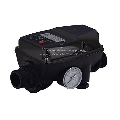 Agora-Tec Pumpen Druckschalter AT-DW-5 ohne Kabel zur Pumpensteuerung für Kreisel- Tauch- Tiefbrunnenpumpen mit Betriebsdruck von 10 bar AT 003 001 003