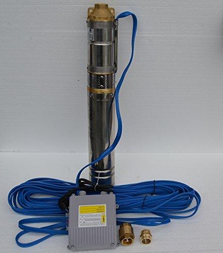 4 Tiefbrunnenpumpe Tauchpumpe Ø 96 mm 2700lh 075kW 11 bar Sandiges Wasser