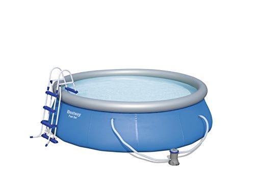 Bestway Fast Set Pool Set mit Filterpumpe  Zubehör 366 X 91cm