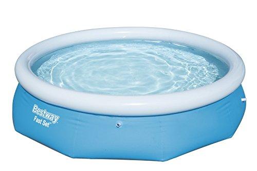 Bestway Fast Set Pool rund ohne Pumpe blau 305 x 76 cm