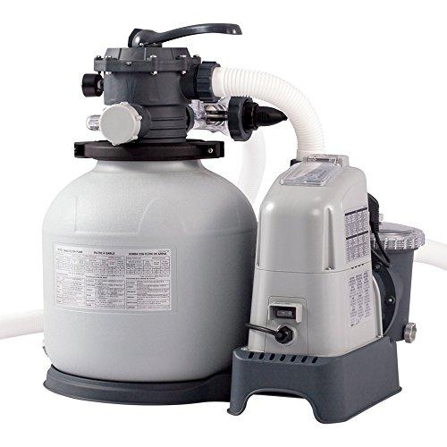 Intex Krystal Clear Sandfilteranlage Salzwassersystem ECO 6000lh 28676