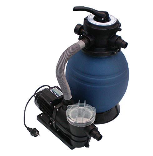 SPIRATO Sandfilteranlage Sandfilter mit Pumpe 10m³h 300