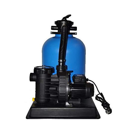 Sandfilteranlage PoolsBest BL Ø 400mm mit Aqua Plus 6 m³h