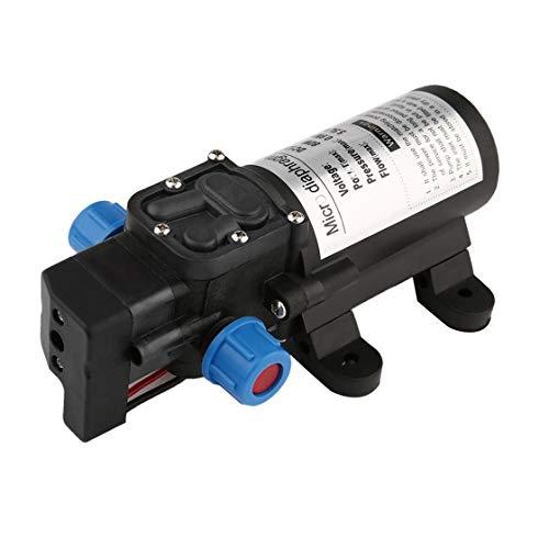Hermosairis Tragbare DC12V 80 Watt Hochdruck Elektrische Wasserpumpe Garten Pool Pumpe Upgrade Trigger Sprayer Für Bewässerung Auto Waschen