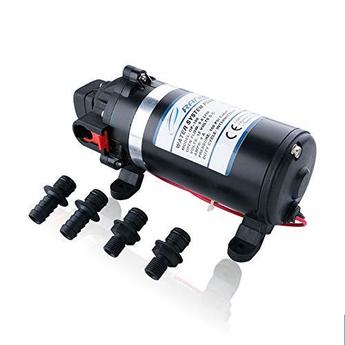 XDLUK 220V Hochdruck-Membran Wasserpumpe 160PSI 51 LMin Selbstansaugende Misting Booster Pump Sprayer Für WohnwagenRVBootMarine