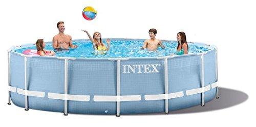 Intex 18FT X 48IN Prism Frame Pool Set hellblau 549x549x122 cm 24311 L 28752GN
