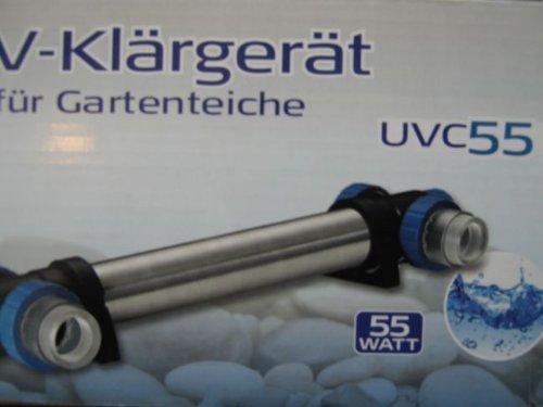 UVC Klärer  Wasserklärer Lampe 55 W UVC