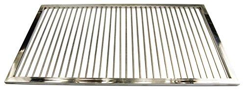AKTIONA Grillrost aus Edelstahl Nach Maß - Umfang 281-300 cm Rost Nach Maßanfertigung Grill Nach Wunsch Gasgrill GrillkaminV2A