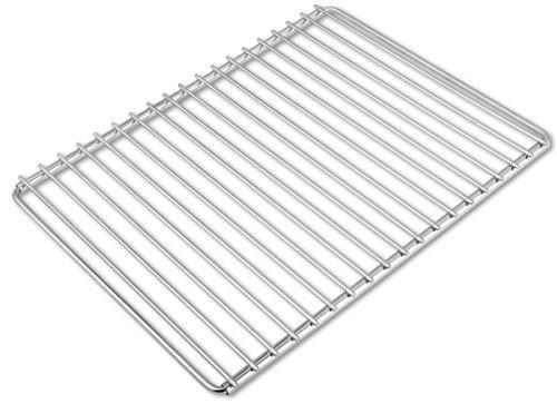 Edelstahl-Grillrost mit verstellbarer Breite 40-55X30cm aus Europäischem Edelstahl Grillrost Verstellbar Grillrost Rostfrei