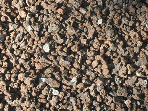 Der Naturstein Garten 100 kg Vergleichspreis 1036 Euro bei 20 Liter Lava Mulch 2-8 mm - Pflanzgranulat Lavastein Lavasteine Kies Kiesel Lavamulch Dachbegrünung Lavagranulat - LIEFERUNG KOSTENLOS