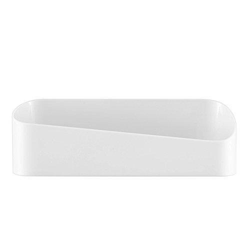 Goodtimes28 Abstandshalter für Badezimmer Küche Wandregal Abtropfgestell Plastik weiß 1