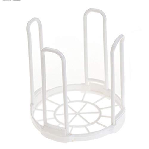housesweet Abtropfgestell aus Kunststoff für Küche und Geschirr Plastik weiß 147  150 cm