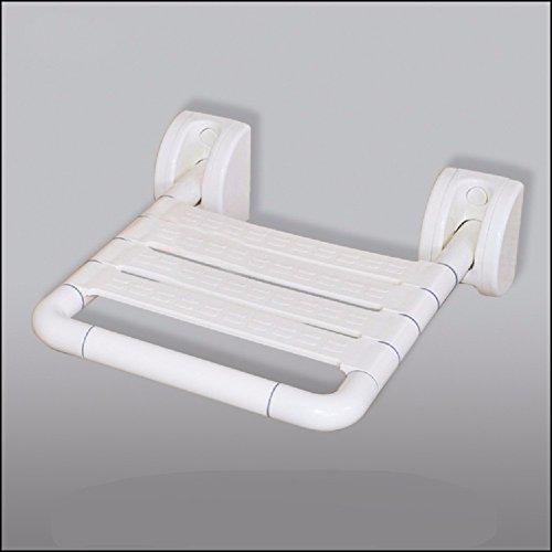 HQLCX Badezimmer-Geländer Edelstahl - Handlauf Sicherheit Dusche Bad Wc - Sitz - Platz Für BehinderteWeiße