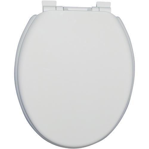 Luxus Super Komfort WC-Sitz Einfach installieren und Reinigen hochwertigem ungiftig Einzigartige weiße Kunststoff Sitz mit glatte Elegante Top 100 Premium Qualität von sourcediy
