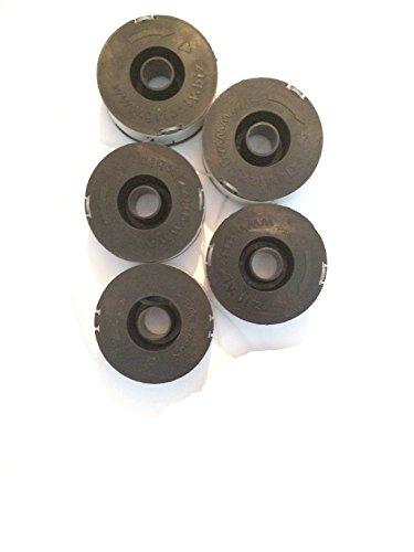 5 Ersatzspulen plus Deckel für Elektro Rasentrimmer Florabest LIDL FRT 450 B2 IAN 79161 Art Nr 13600017