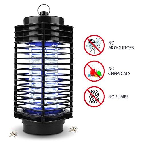 maxineer Moskitolampe Motte Fliegen Insekt Electric Mosquito Killer LampeInsektenvernichter Lichtfalle Mückenfalle Insektenfalle Mückenlicht Mückenfalle Insektenlampe