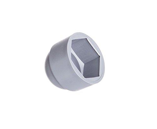 25 Stck Schutzkappen für Schrauben M12 für Schlüssel 19 Grau Schraubenkappen Stopfen Rohrkappen