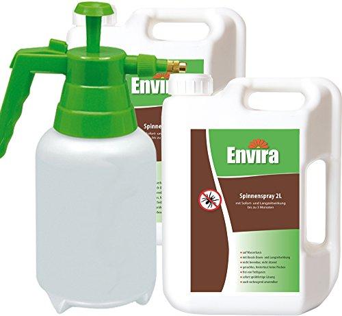 ENVIRA Spinnen Abwehrspray 2x2LtrDrucksprüher