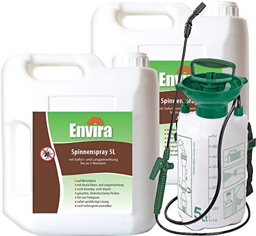 ENVIRA Spinnen Stop Spray 2x5Ltr5Ltr Sprüher