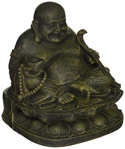 Design Toscano Heiligtum des Lachenden Buddha Statue