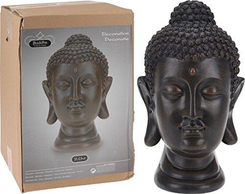 Unbekannt Buddha Büste Kopf Statue Dekofigur Skulptur Tempelwächter 1070