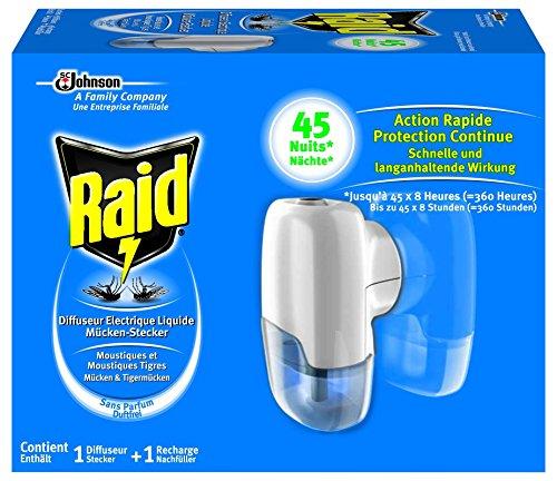 Raid Mücken-Stecker 45 Nächte Original 27ml