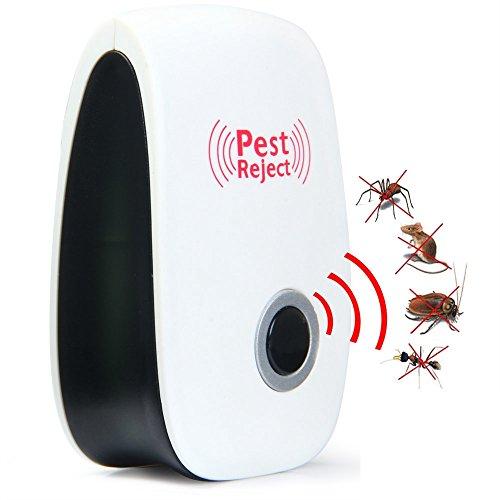 Ultraschall Pest Repeller Elektronische Plug-in Pest Control Mückenschutz Pest Reject Für Mäuse Spinnen Insekten Insekten Ameisen Mücken Ratten Kakerlaken Und Andere Insekten