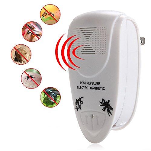 iLifeSmart Pest Repeller Ultrasonic Ultraschall Schädlingsbekämpfer Schädlingsvertreiber für Ratten Ameisen Spinnen Mücken und Insekten