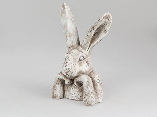 Hasen Büste Kopf Hase Osterhase Dekohase Oster Deko Tier Figur Skulptur Statue