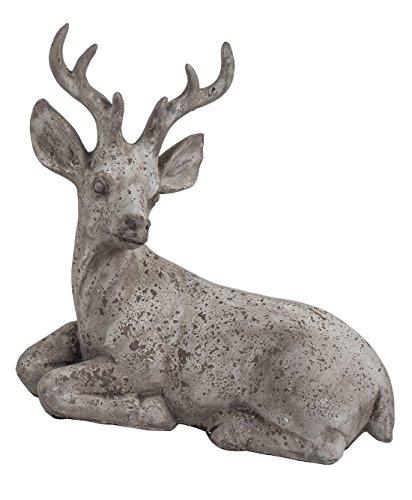 Klp Hirsch Rentier REH Bock Elch Gartendeko Deko Garten Tier Figur Skulptur Statue