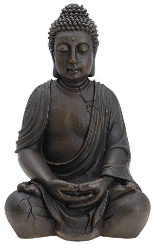 Buddha Budda Skulptur Figur Statue 50 cm Garten Terrasse