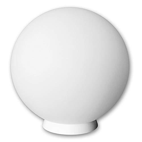 tec  Kabellose LED Kugellampe 30cm Kugel-Dekoleuchte mit Farbwechsel und Fernbedienung – Gartenleuchte Kugelleuchte - hängend stehend verwendbar - wasserdicht IP54 für Haus und Garten
